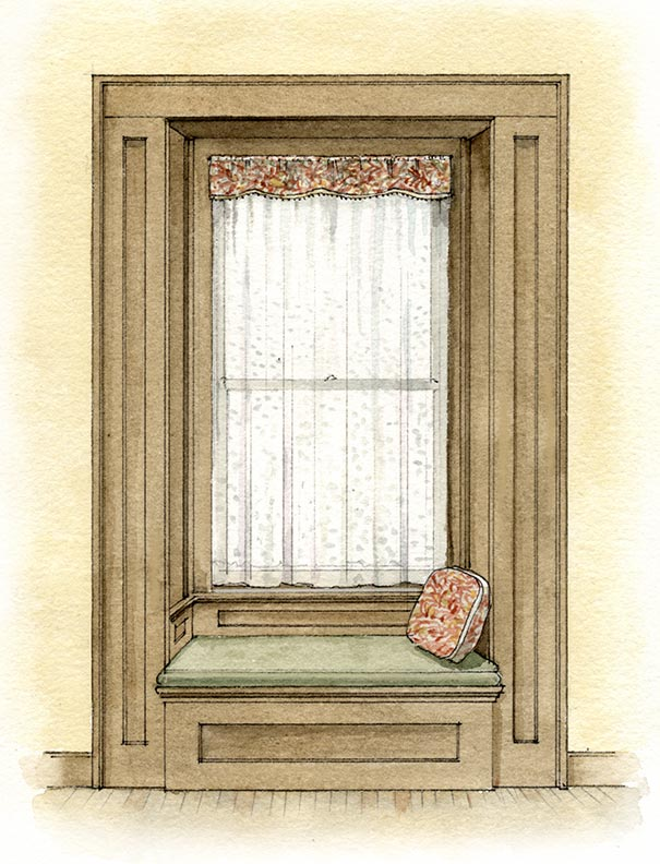 Ideas for Simple Window Treatments - Old-House Online - Old-House ...
