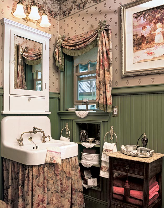 Solutions for small bathrooms old house online old for Victorian bathrooms