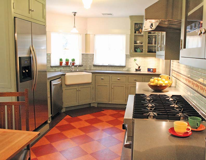 The Best Flooring Choices for Old-House Kitchens - Old-House Online ...