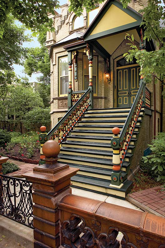 victorian painted lady porch - photo #26