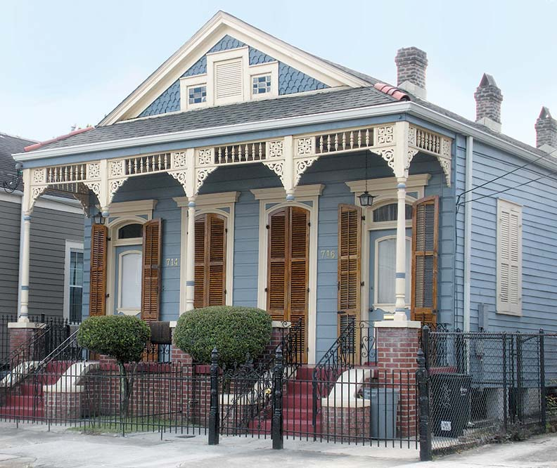 Architecture culture in new orleans 39 faubourg marigny Old new orleans style house plans