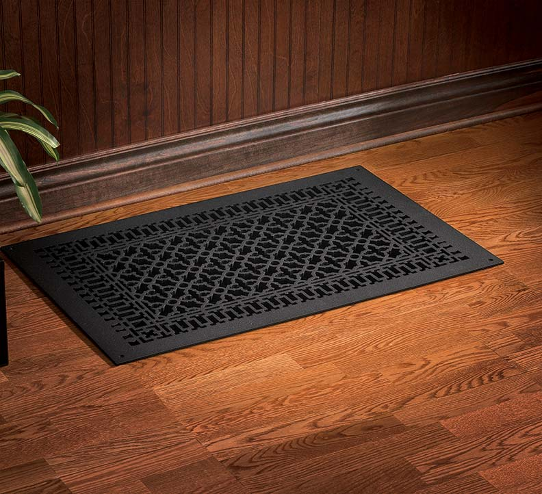 Antique decorative registers heat vents vent covers floor Heating options for small homes