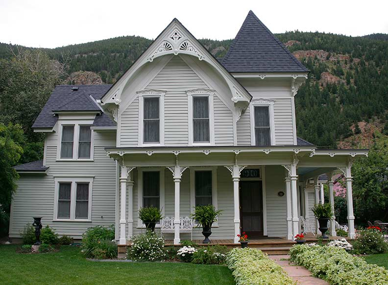 Old west victorians in georgetown colorado old house for Buckley house