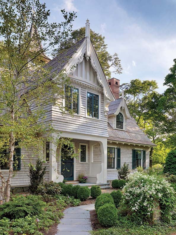 rescuing a shingle style carriage house - old-house online