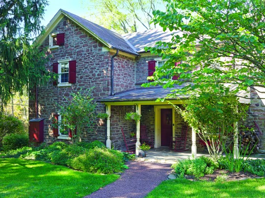 A pennsylvania stone farmhouse old house online for Pennsylvania stone farmhouses