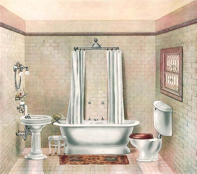The History Of The Bathtub Old House Online Old House