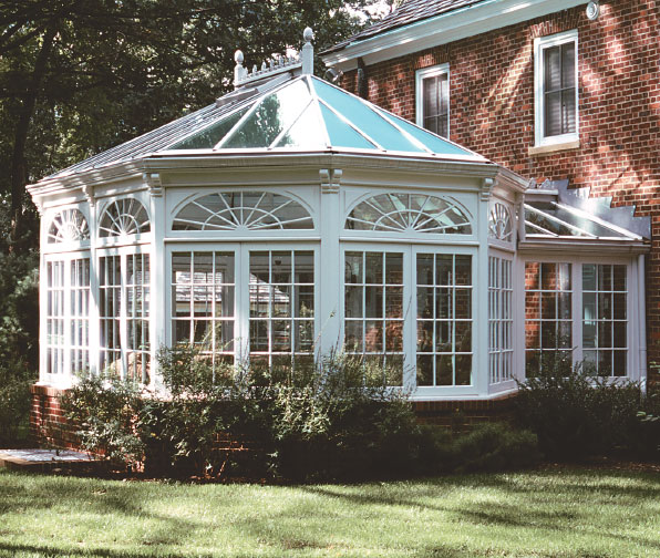 Classic Greenhouses And Conservatories For Old Houses