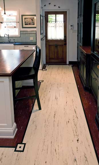 Resilient Floors For Old Houses Eco Friendly Linoleum
