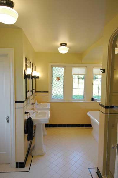 Art Deco Bathroom: Old-House Online