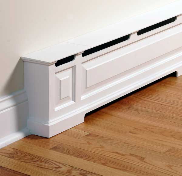 Baseboard Off The Ground Hvac Diy Chatroom Home