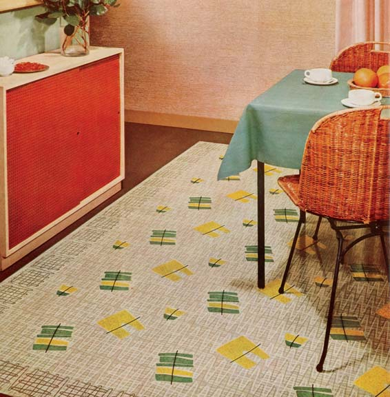 History Of Linoleum Rugs Old House Online
