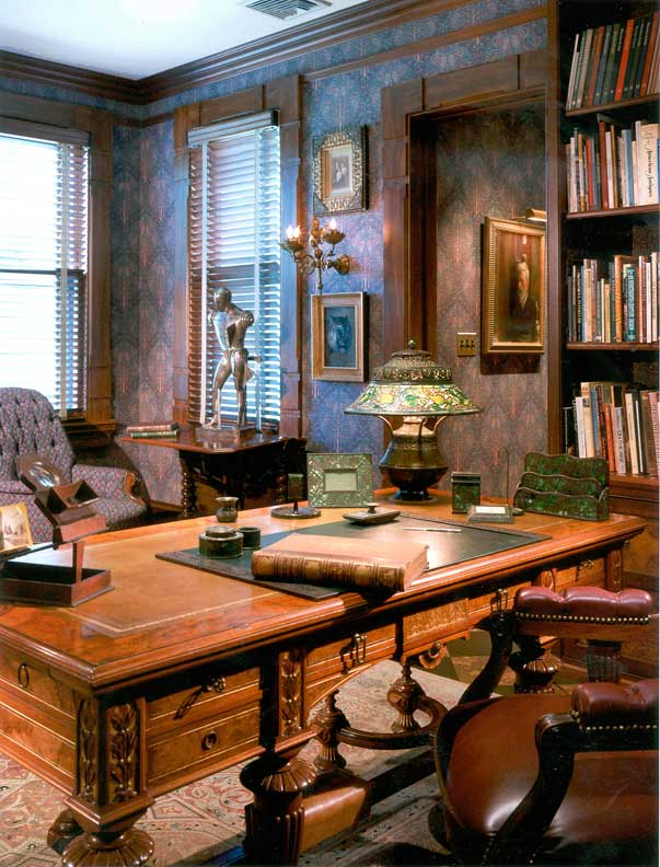 Library Study Room Design: An Aesthetic Victorian Makeover