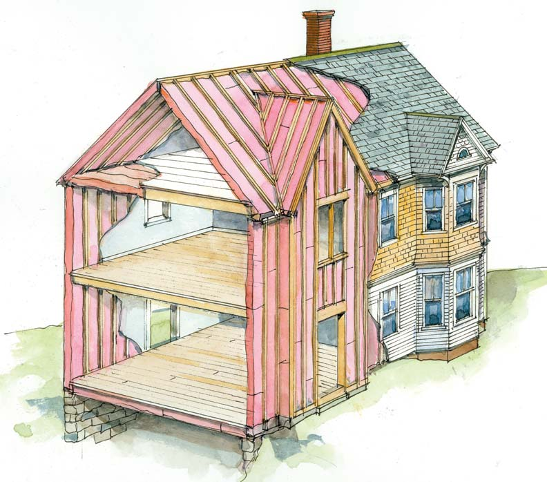 7 Insulation Tips To Save Money Amp Energy Old House