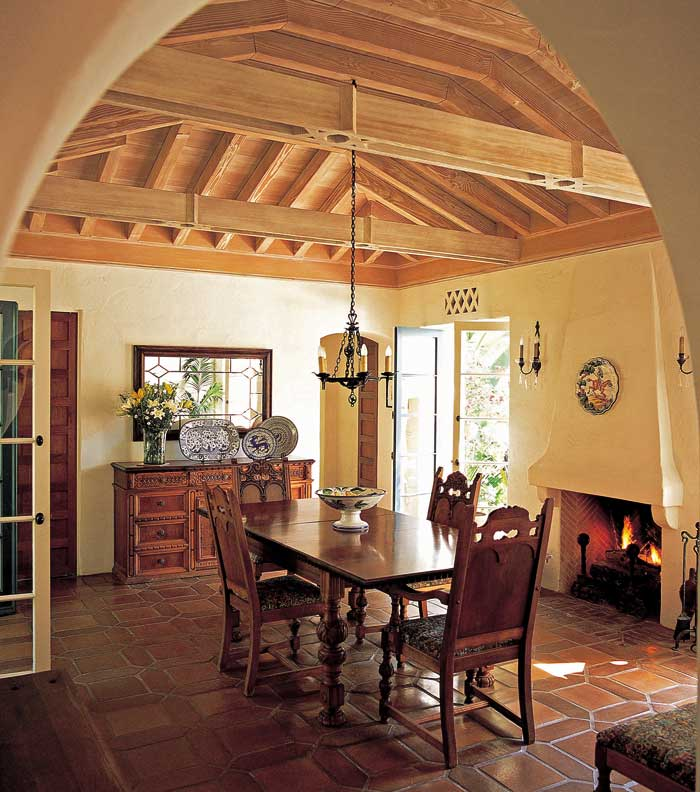 An Authentic New Spanish Colonial - Old-House Online - Old ...
