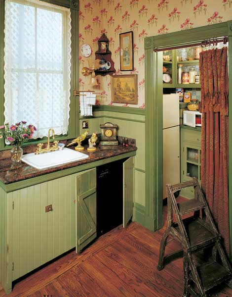 Historic Victorian Kitchen Cabinets An Important Element