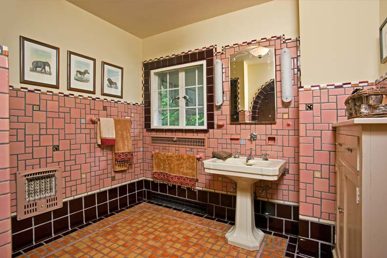 History Of The Flint Faience Tile Company Old House