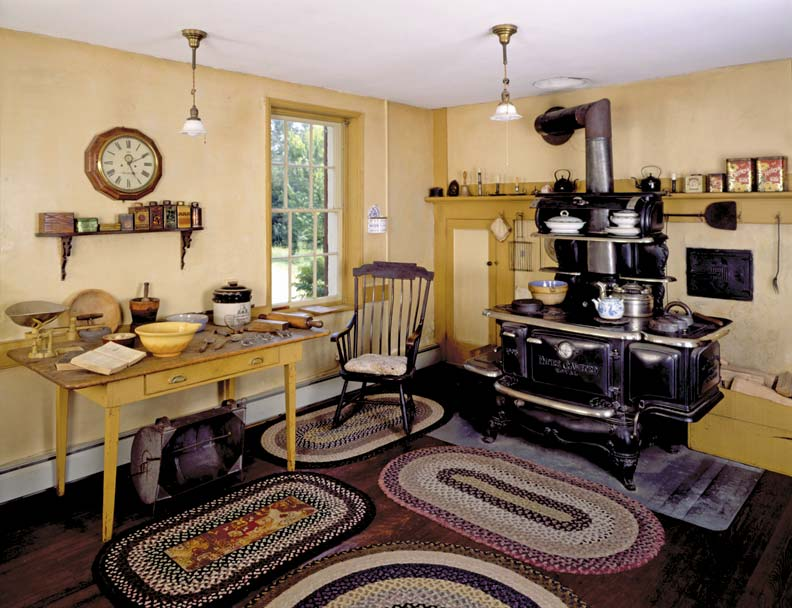 History Of The Kitchen Stove Old House Online Old