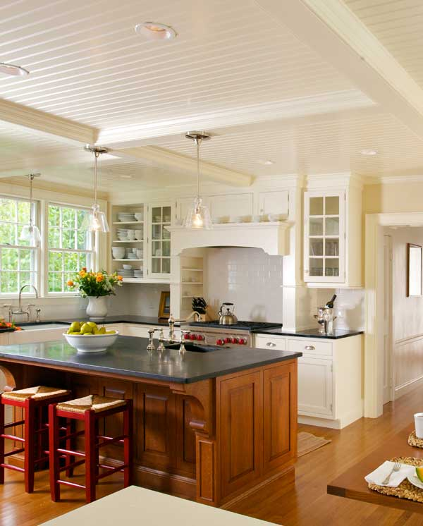 Kitchen Furniture Online: New Classic Kitchen In A Cape Cod Federal