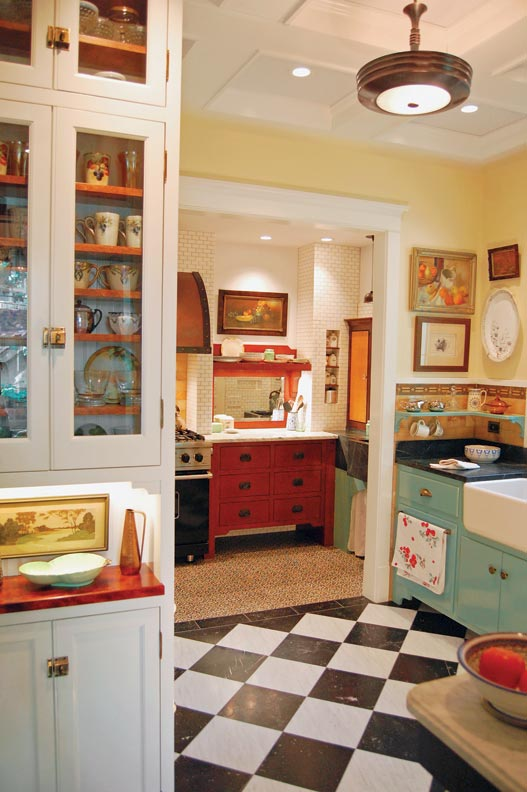 Eclectic Kitchens: Designing An Eclectic 20th-Century Kitchen