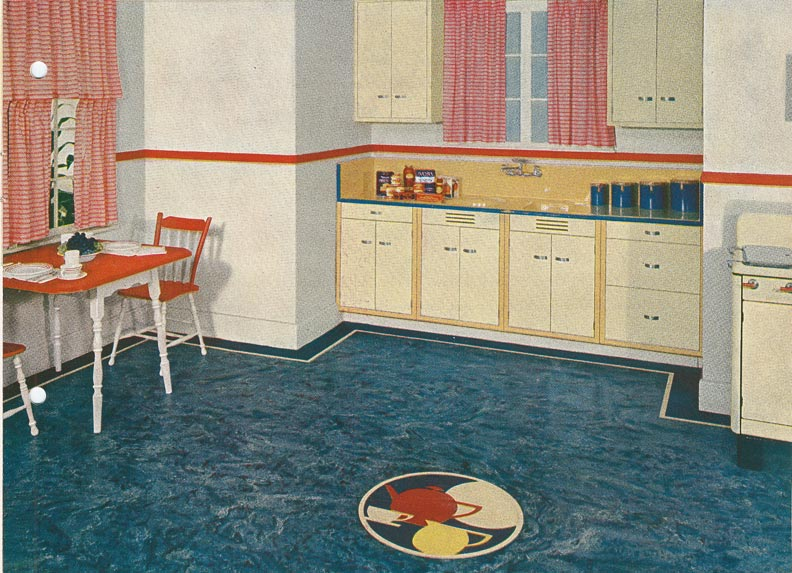 How To Inlay Linoleum Floors Old House Online Old