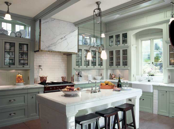 A Classic Kitchen For An Edwardian Renovation Old House