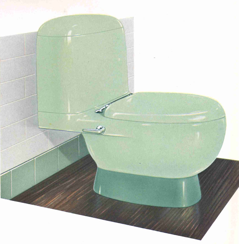 The Evolution of Colored Bathroom Fixtures - Old-House ...
