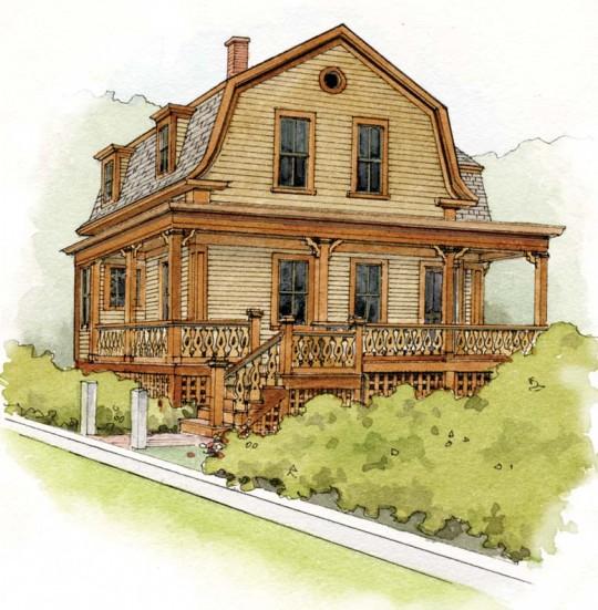 paint schemes for a victorian cottage old house online old house online. Black Bedroom Furniture Sets. Home Design Ideas