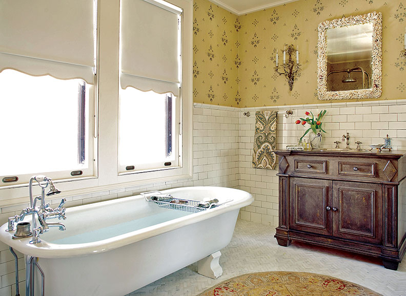 Guide To 20th Century Bathroom Tile Old House Online