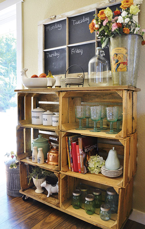 Make Shelves Out Of Wooden Crates Old House Online Old
