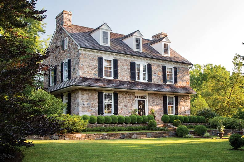 Architect Peter Zimmerman S Stone Farmhouse Old House