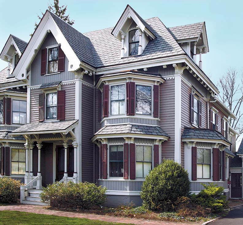 Home Exterior Paint Schemes: 12 Rules For Victorian Polychrome Paint Schemes